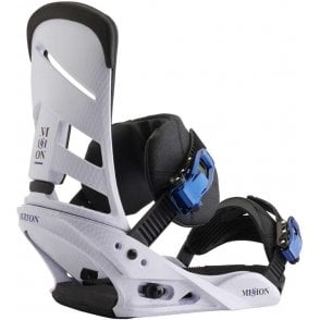 Mission Snowboard Bindings New White 2018