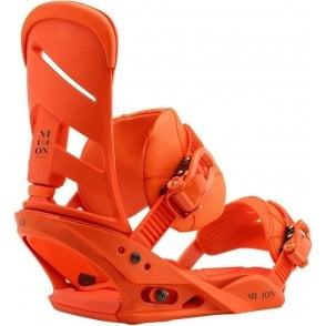 Burton Mission Snowboard Bindings Orang Sick Le 2018