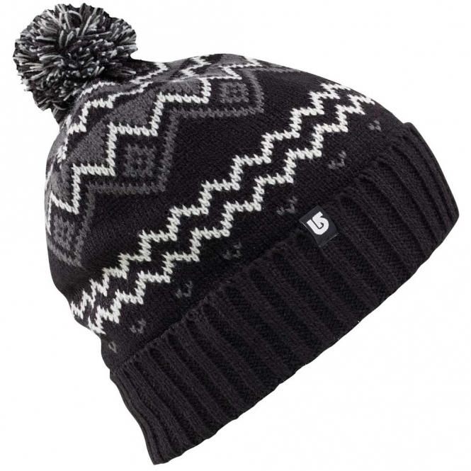 Burton Mountain Man Beanie - 2017 Black