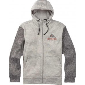 Burton Oak Full-Zip Hoodie - Heather
