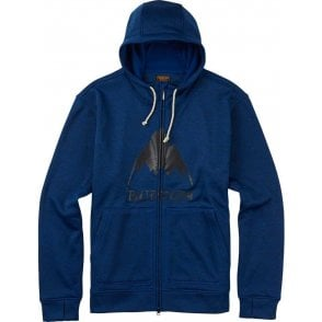 Burton Oak Full-Zip Hoodie - True Blue Heather