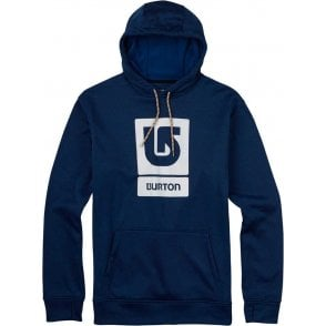 Oak Pullover Hoodie - True Blue Heather