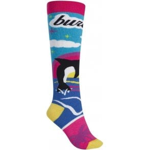 Burton Party Sock - Beach Scene