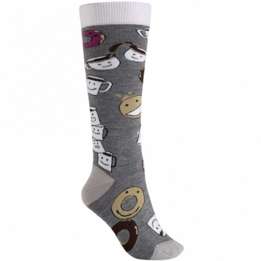 Burton Party Sock - Coffee and Donuts