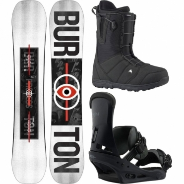 Burton Process Flying V Snowboard Package 159