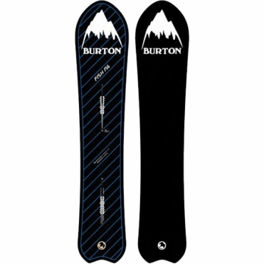 Retro Fish Snowboard 156