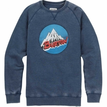Burton Retro Mountain Crew - Indigo