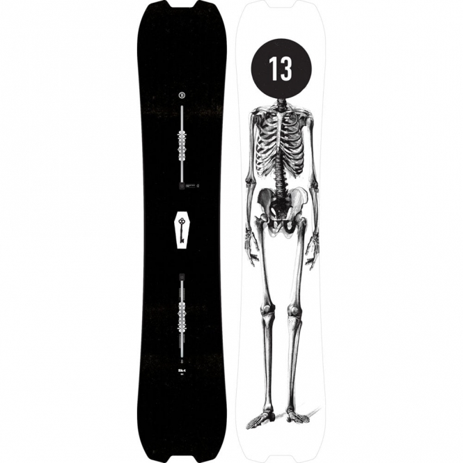 Burton Skeleton Key Twin Snowboard 158