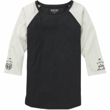 Burton Talent Scout Raglan Tee - Phantom