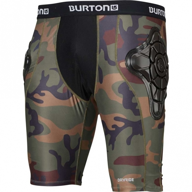 Burton Total Impact Shorts - Highland Camo