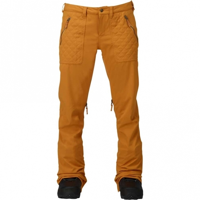 Burton Vida Snowboard Pants - Squashed