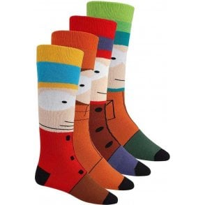 Weekend Socks - South Park 2 Pack