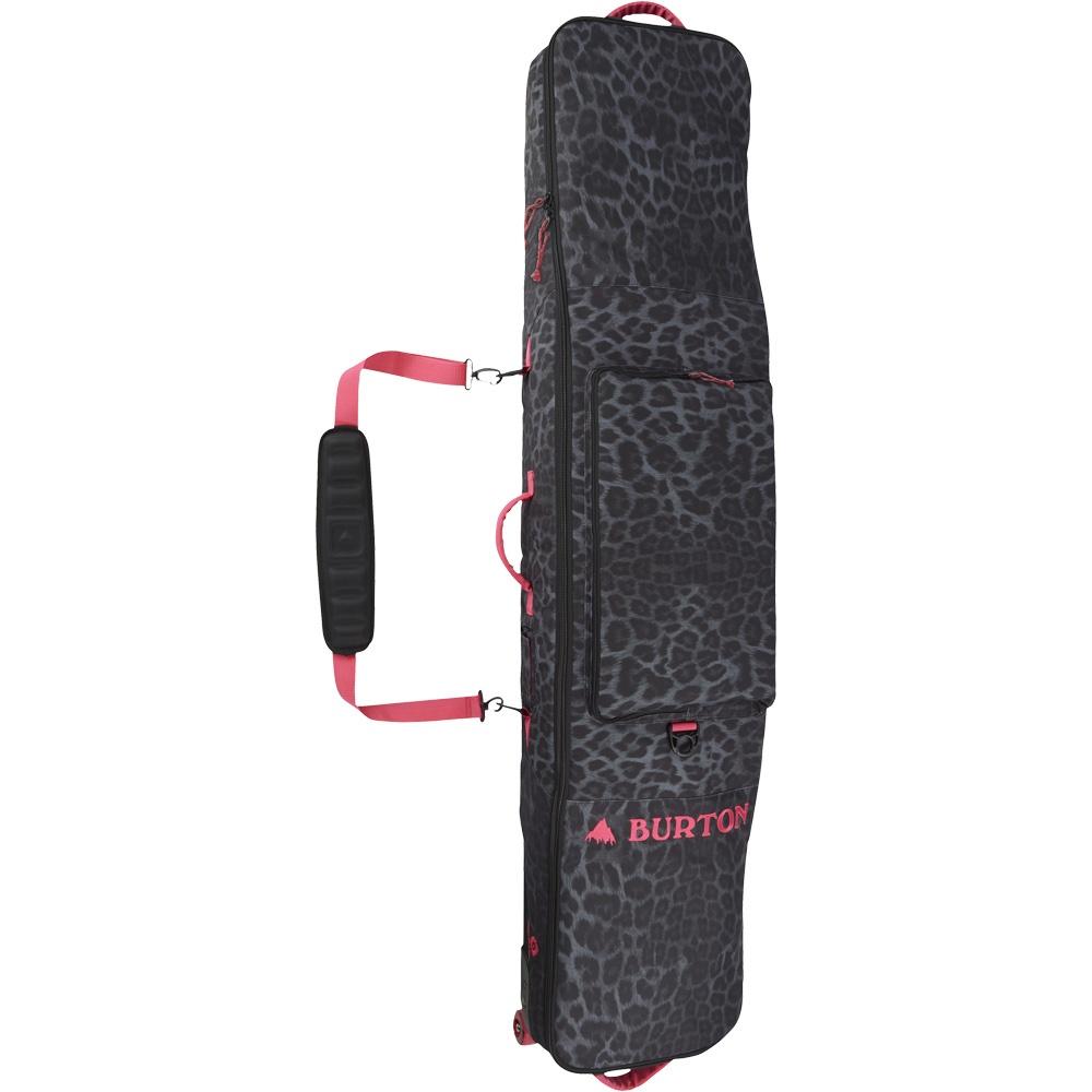 Burton wheelie gig bag queen la cheetah for Housse snowboard