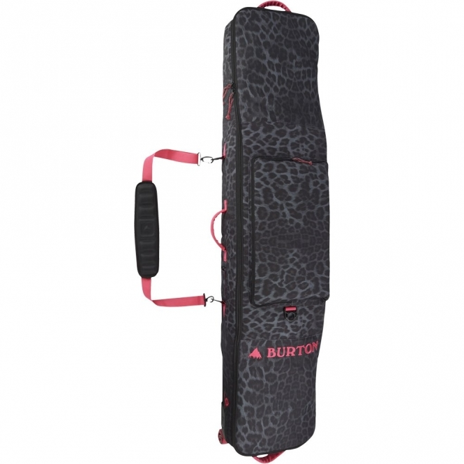 Burton Wheelie Gig Bag - Queen La Cheetah
