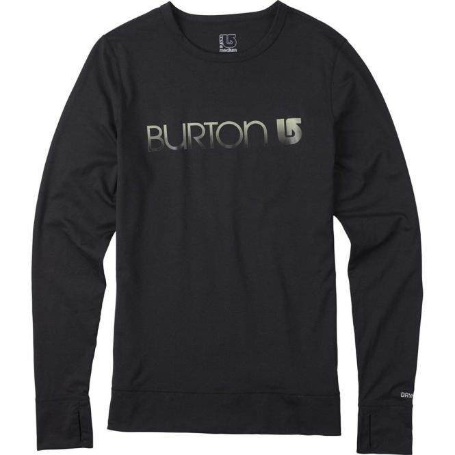 Burton Womens Midweight Crew - Black