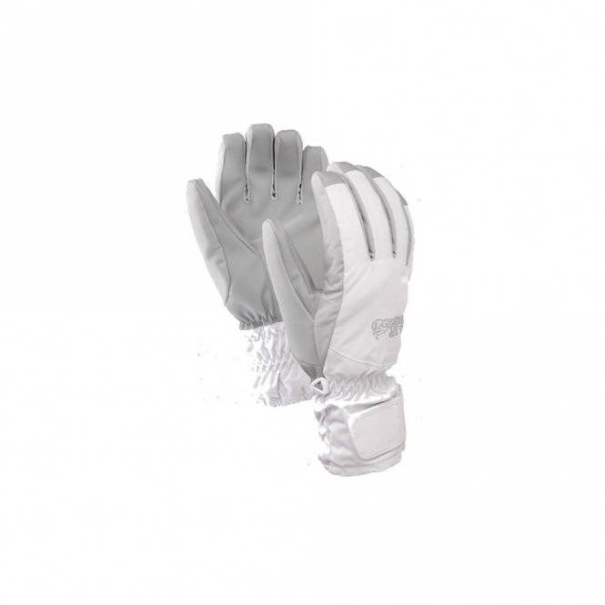 Burton Womens Profile Under Glove - Bright White