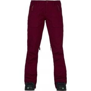 Burton Women's Vida Snowboard Pants - Sangria