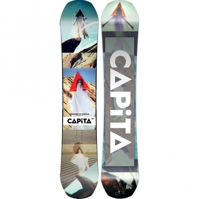 Capita Defenders of Awesome Snowboard 158 Wide