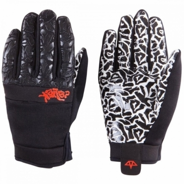 Misty Snowboard Gloves - Black