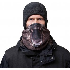 Scribble Facemask - Grizzly