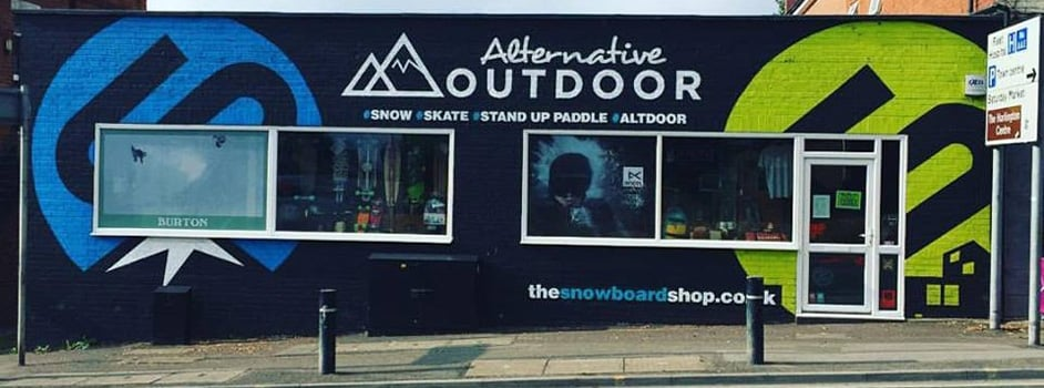 The Snowboard Shop - Shop Front