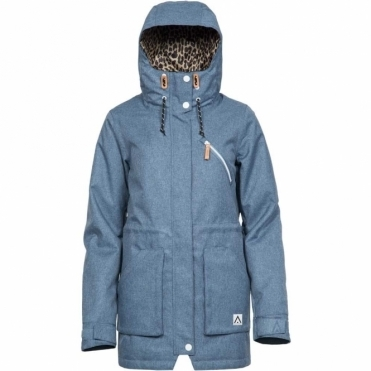 Colour Wear Women's Wear Parka Jacket