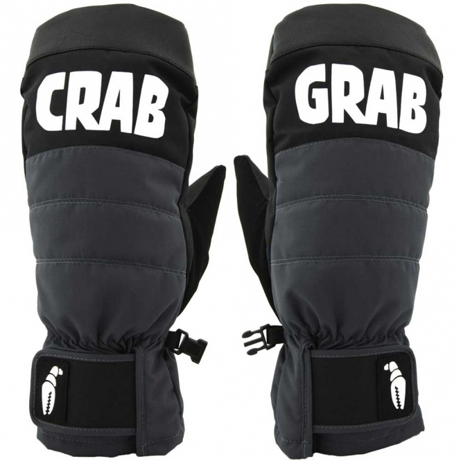 Crab Grab Punch Mitt Grey/Black