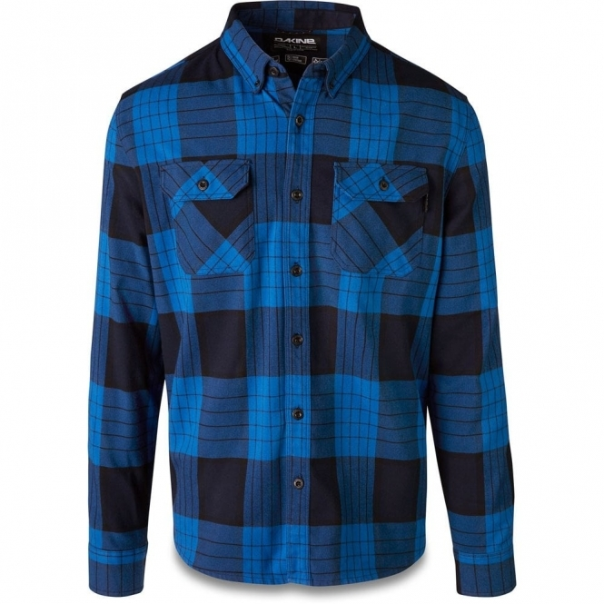 Dakine Reid Tech Flannel Shirt - Cobalt Blue