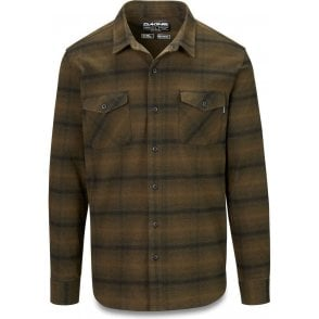 Dakine Underwood Flannel Shirt - Dark Olive