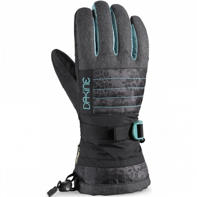 Dakine Womens Omni Glove  - Leopard