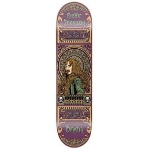 Death Jackson Art Nouveau Deck 8.0""