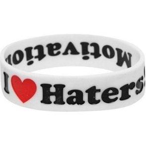DGK Haters Bracelet - White