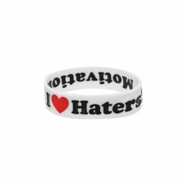Haters Bracelet - White