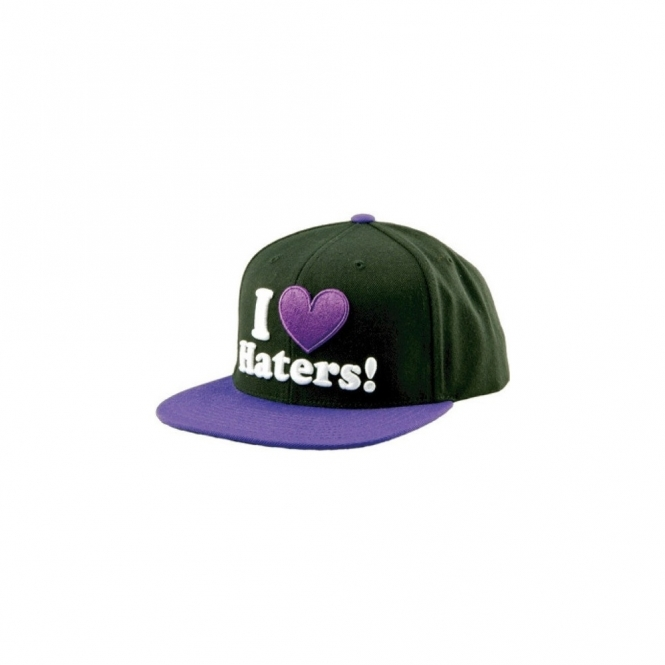 DGK Haters Snapback Hat - Black/Purple