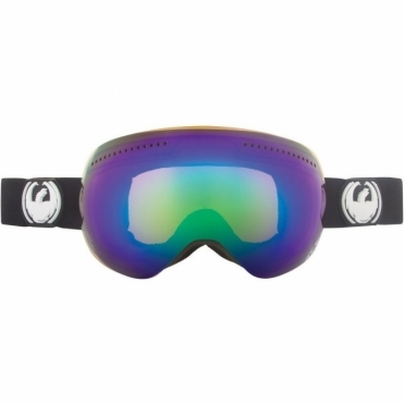 APX Snowboard Goggles - Coal / Green Ionized