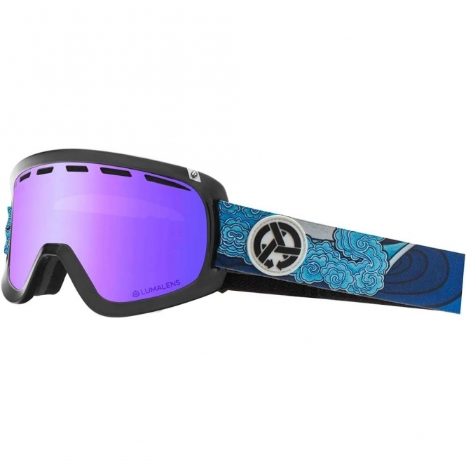 Dragon D1 Goggles - Asymbol Jamie Lynn / LumaLens Blue Ion
