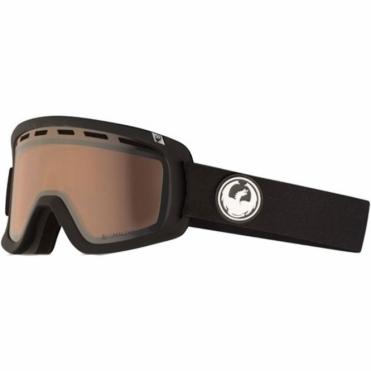Dragon D1 Goggles - Black / LumaLens Silver Ion