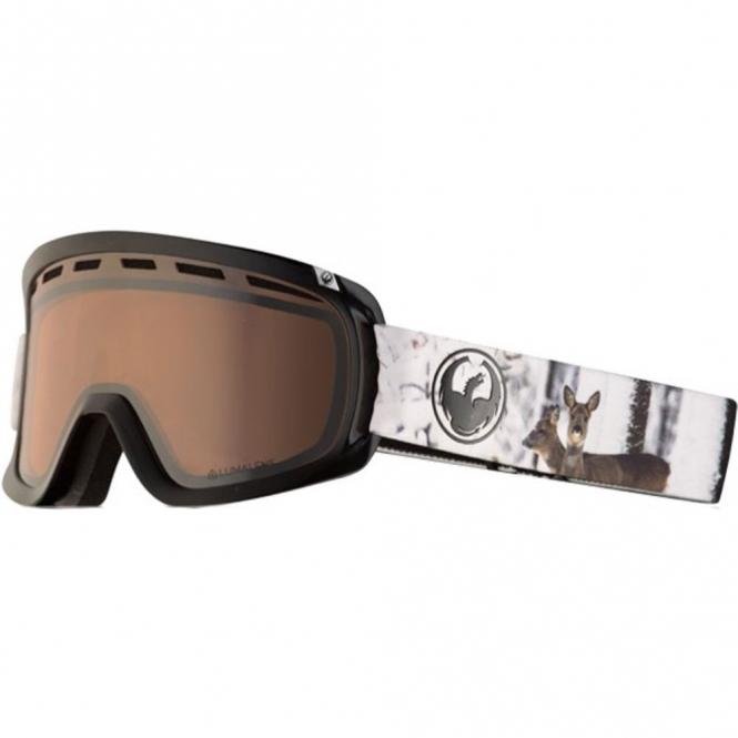 Dragon D1 Goggles - Realm / LumaLens Silver Ion