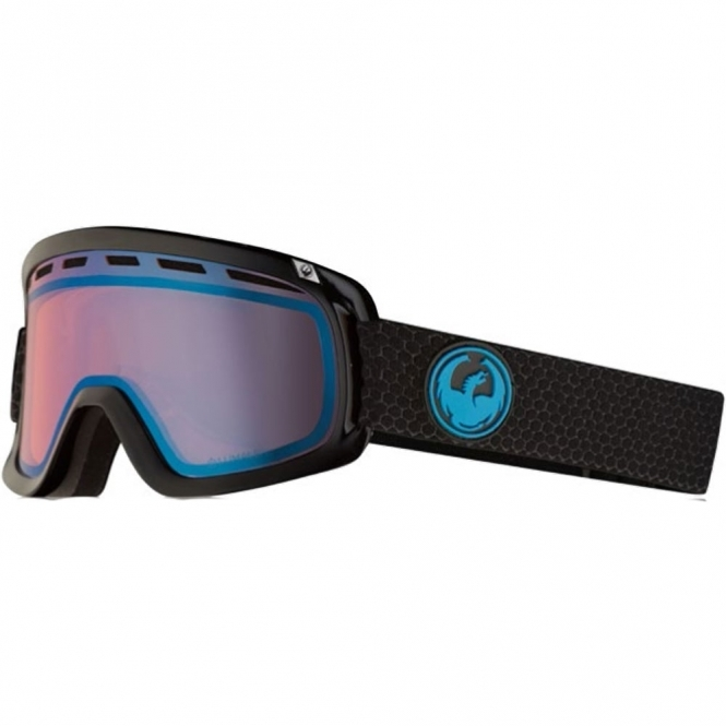 Dragon D1 Goggles - Split / LumaLens Blue Ion
