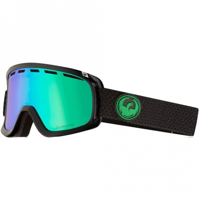 Dragon D1 Goggles - Split / LumaLens Green Ion