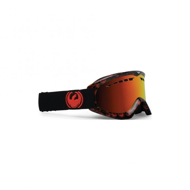 Dragon DX Snowboard Goggles - Red Icons