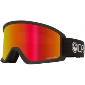 Dragon DX3 Goggles 2020 - Black / Lumalens Red Ion