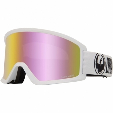 Dragon DX3 Goggles 2020 - White / Lumalens Pink Ion