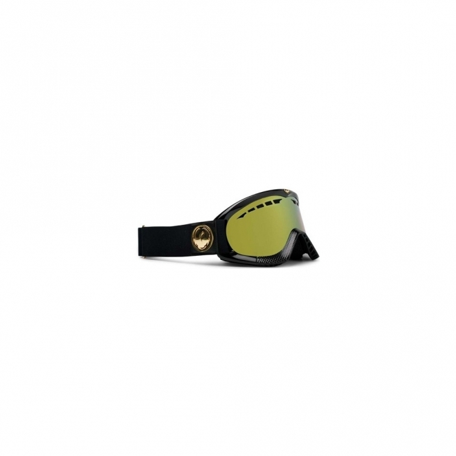 Dragon DXS Snowboard Goggles - Black Gold