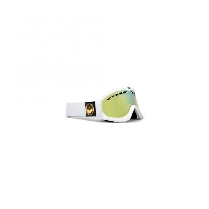 Dragon DXS Snowboard Goggles - White Gold