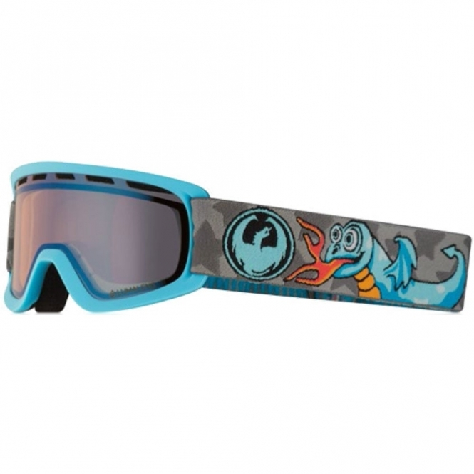 Dragon Lil D Youth Goggles - Grom / LumaLens Flash Blue