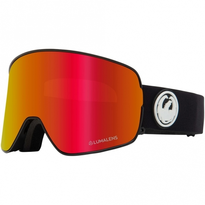 Dragon NFX2 Goggles 2020 - Black / Lumalens Red Ion