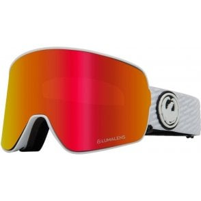 Dragon NFX2 Goggles 2020 - PK White / Lumalens Red Ion