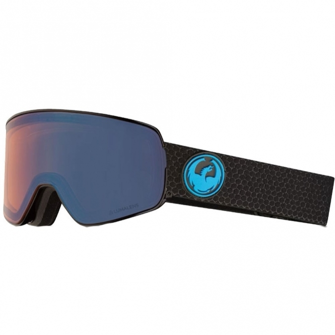 Dragon NFX2 Goggles - Split / LumaLens Blue Ion
