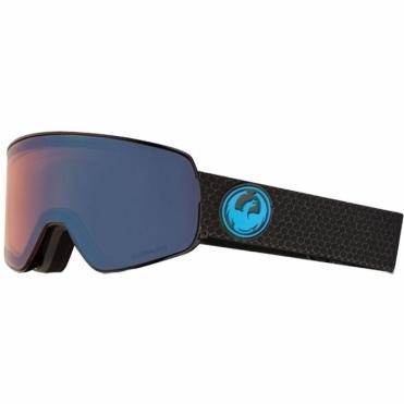Dragon NFX2 Goggles - Split / LumaLens Blue Ion